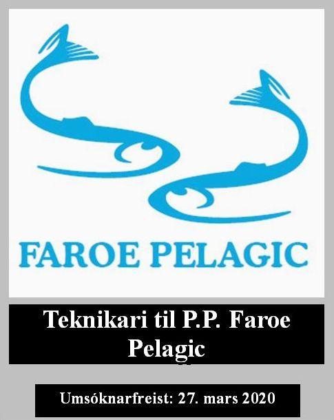 Starvslýsing Faroe Pelagic