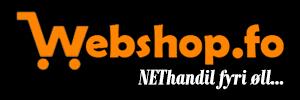 Lýsing webshop.fo