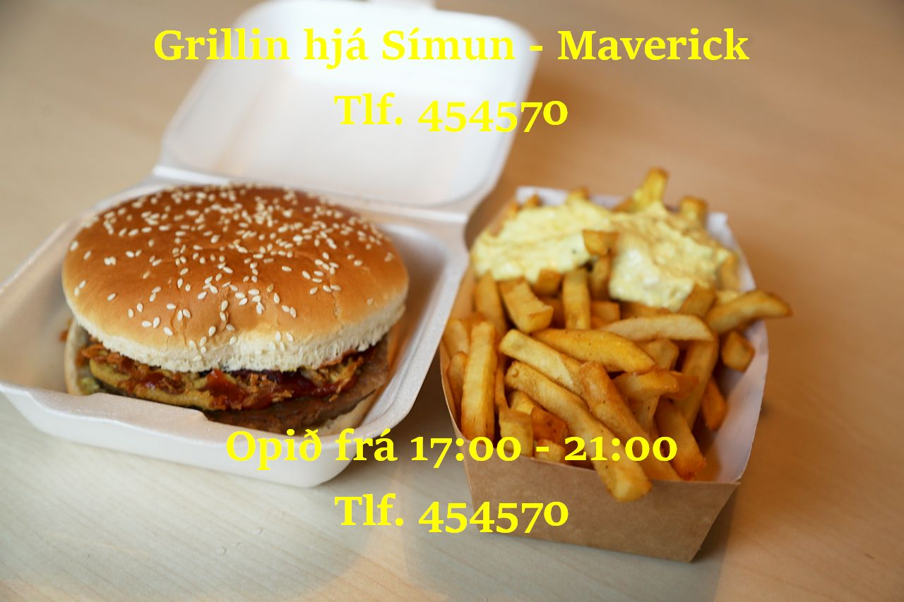 Grillin hjá Símun - Maverick