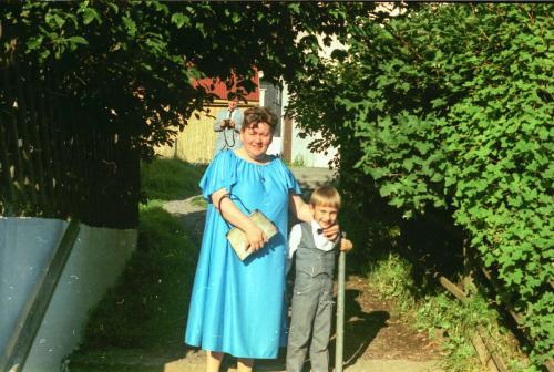 mamma og lítli beiggið-1